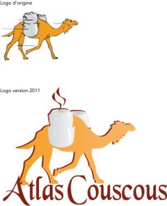 Relooking du logo Atlas Couscous