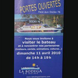 Création de roll-up La Bodega en Seine