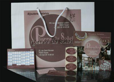 Création de charte graphique bijouterie