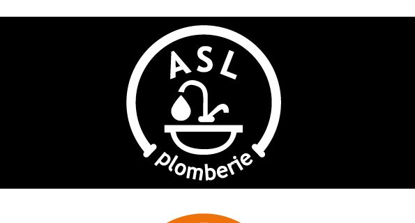 Création de logo ASL plomberie
