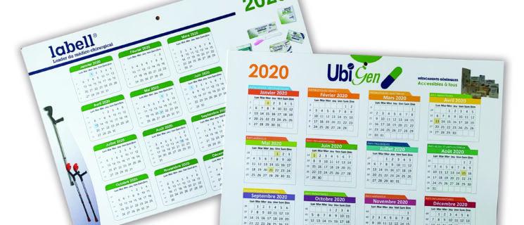 Création de calendriers