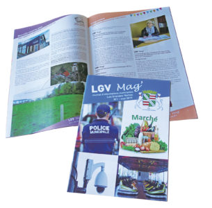 Mise en page magazine municipal